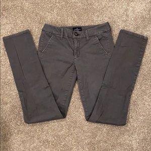 American Eagle mid rise skinny pants